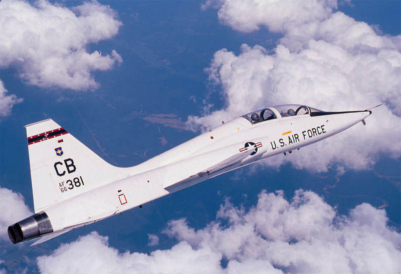 USAF T-38 Trainer Aircraft