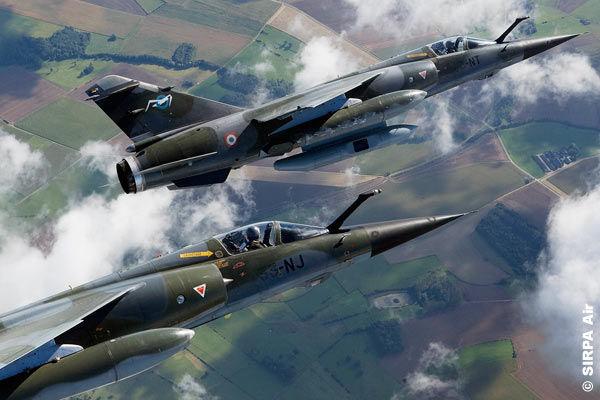 French Dassault Mirage F1CRs ER 02/033 Savoie reconnaissance aircraft