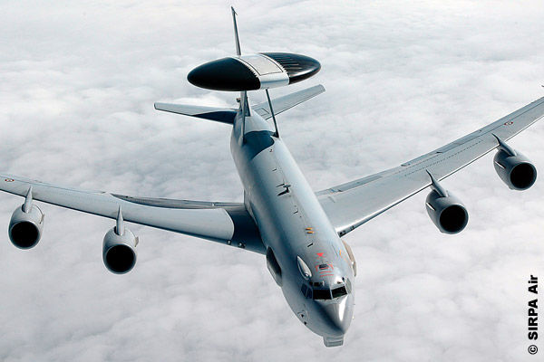 Boeing E-3 Sentry airborne early warning and control AWACS