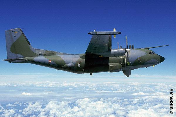 French Air Force C-160G Gabriel electronic warfare aircraft