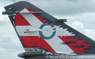 Mirage F1CR fin - 02033 SAVOIE Recce Sqn