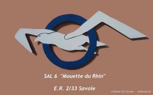 "ER 2/33 Savoie reconnaissance squadron, SAL 6 ""Rhine Gull"" Flight Emblem"