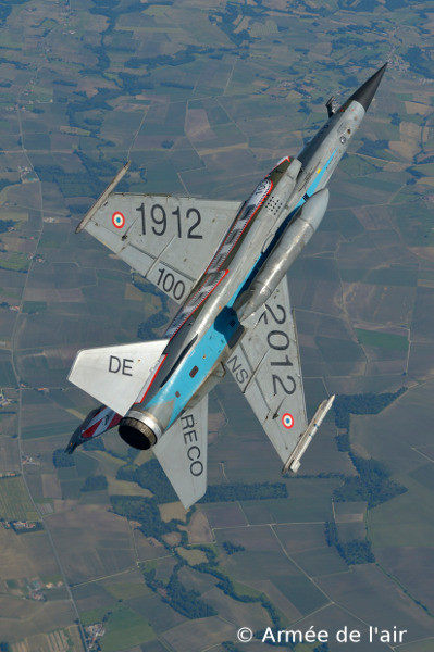 "Mirage F1CR Upside down - ER 02/033 ""Savoy"", SAL 6 ""Rhine Gull"" - Recce from 1912 till 2012"