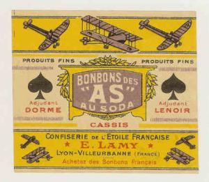 DORME & LENOIR - 1916 Candy Wrapper