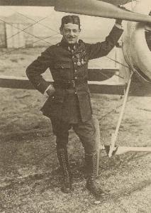Maxime Lenoir & Nieuport - summer 1916