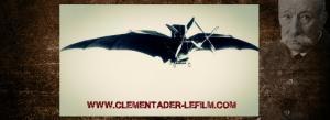 Clément Ader flying