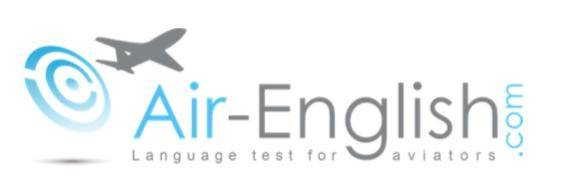 Air-English website - Language Test for Aviators