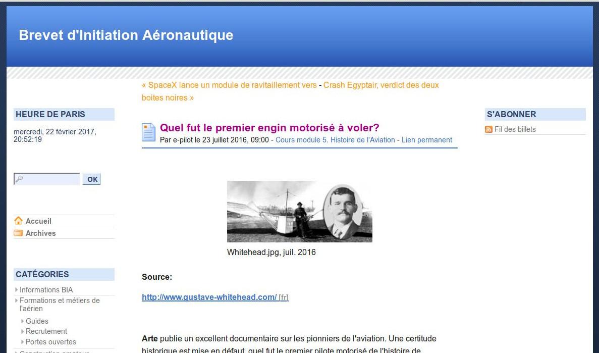 Blog Académie de Versailles BIA de Laurent Leroy