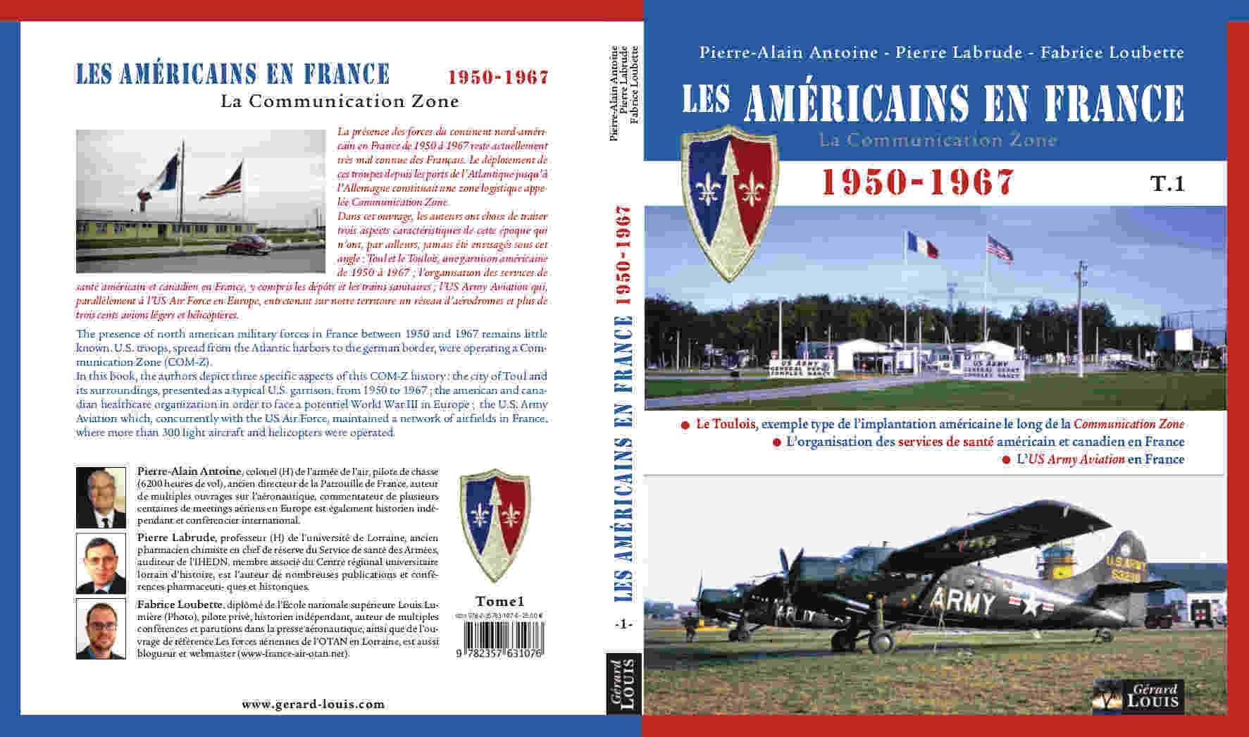 Couverture livre - Les Américains en France