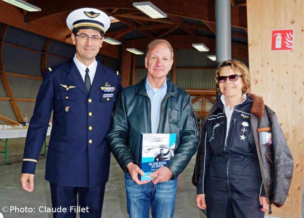 Catherine Maunoury, Daniel Deneken et le livre Une autre histoire de l'aviation
