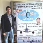 FCL ANGLAIS, anglais aéronautique, formations pour pilotes, traduction, Toni Giacoia à votre service, FCL .055, FCL055, Anglais niveau 6 OACI, IR VFR IFR, ATPL, Auteur, BIA, CAEA, Coach, Conférences, Traducteur, fclanglais.fr