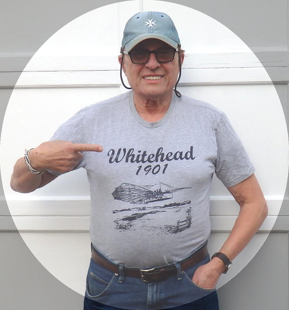 Searcher Charles Lautier Gustave Whitehead 1901 Number 21 T-shirt Gustav Weisskopf Connecticut