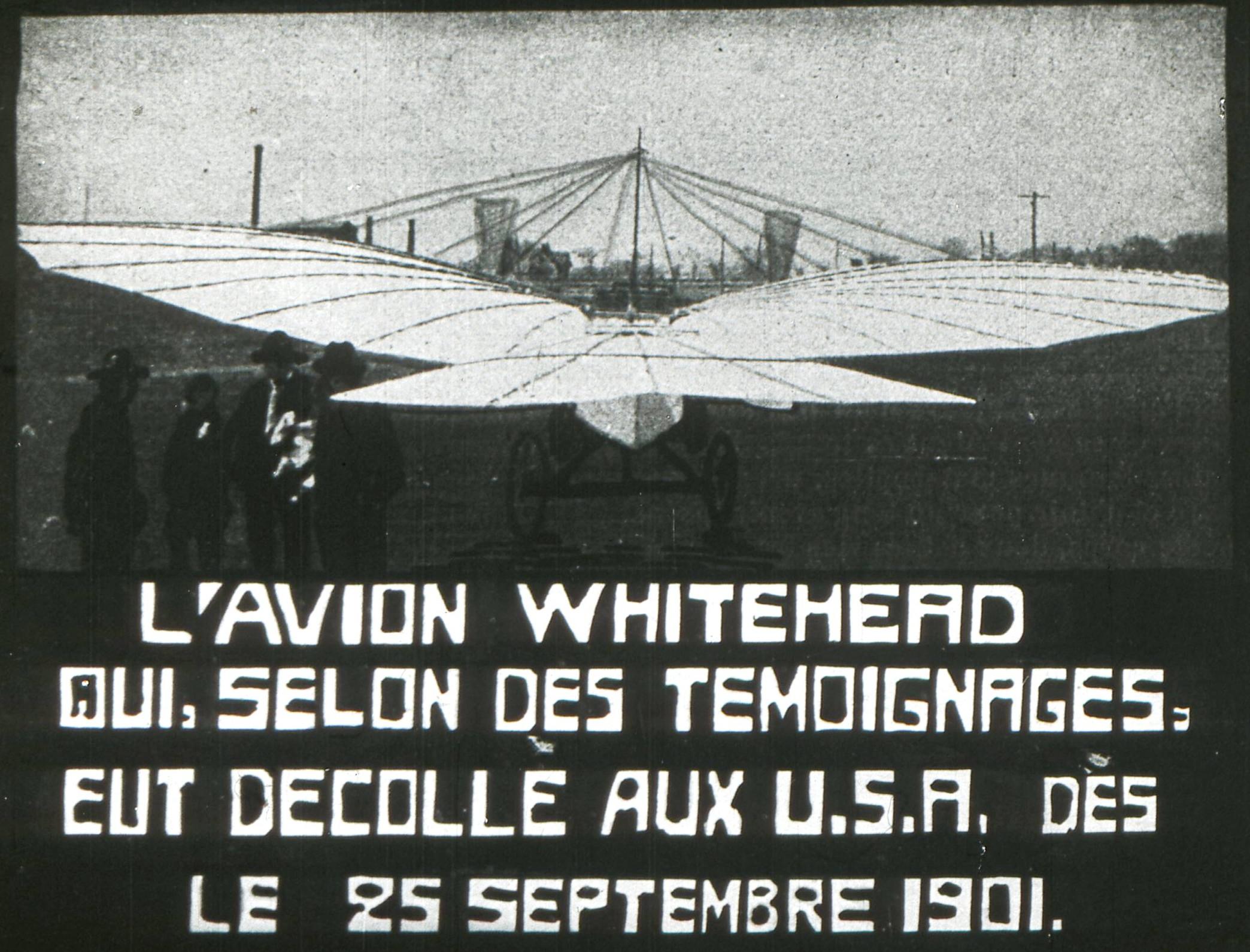 Gustav Weisskopf Gustave Whitehead numéro 21 condor aéroplane Alfred Carlier France anciens aérodromes 2A français USA septembre 1901