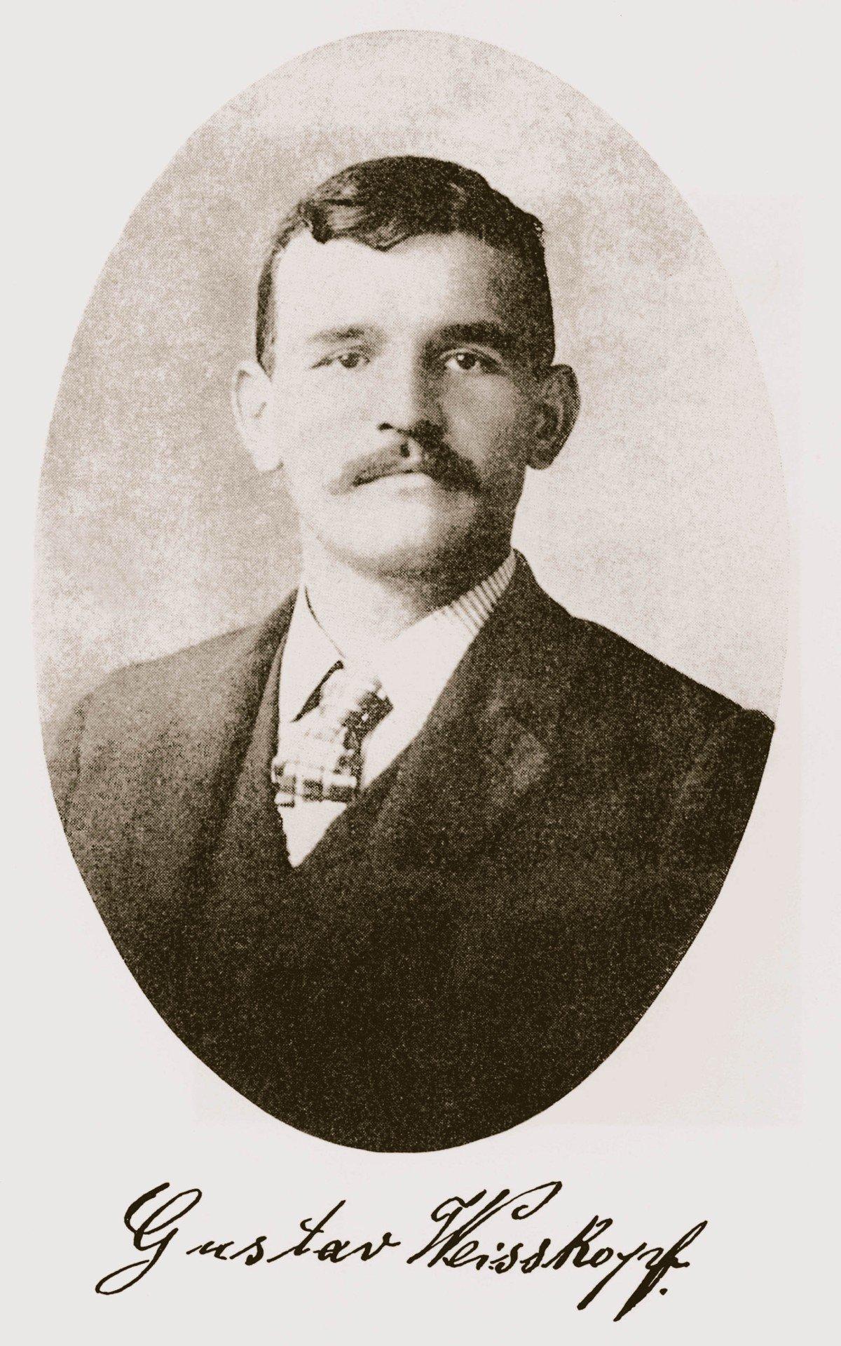 FFGW Gustav Weisskopf portrait Karl Heigold Gustave Whitehead