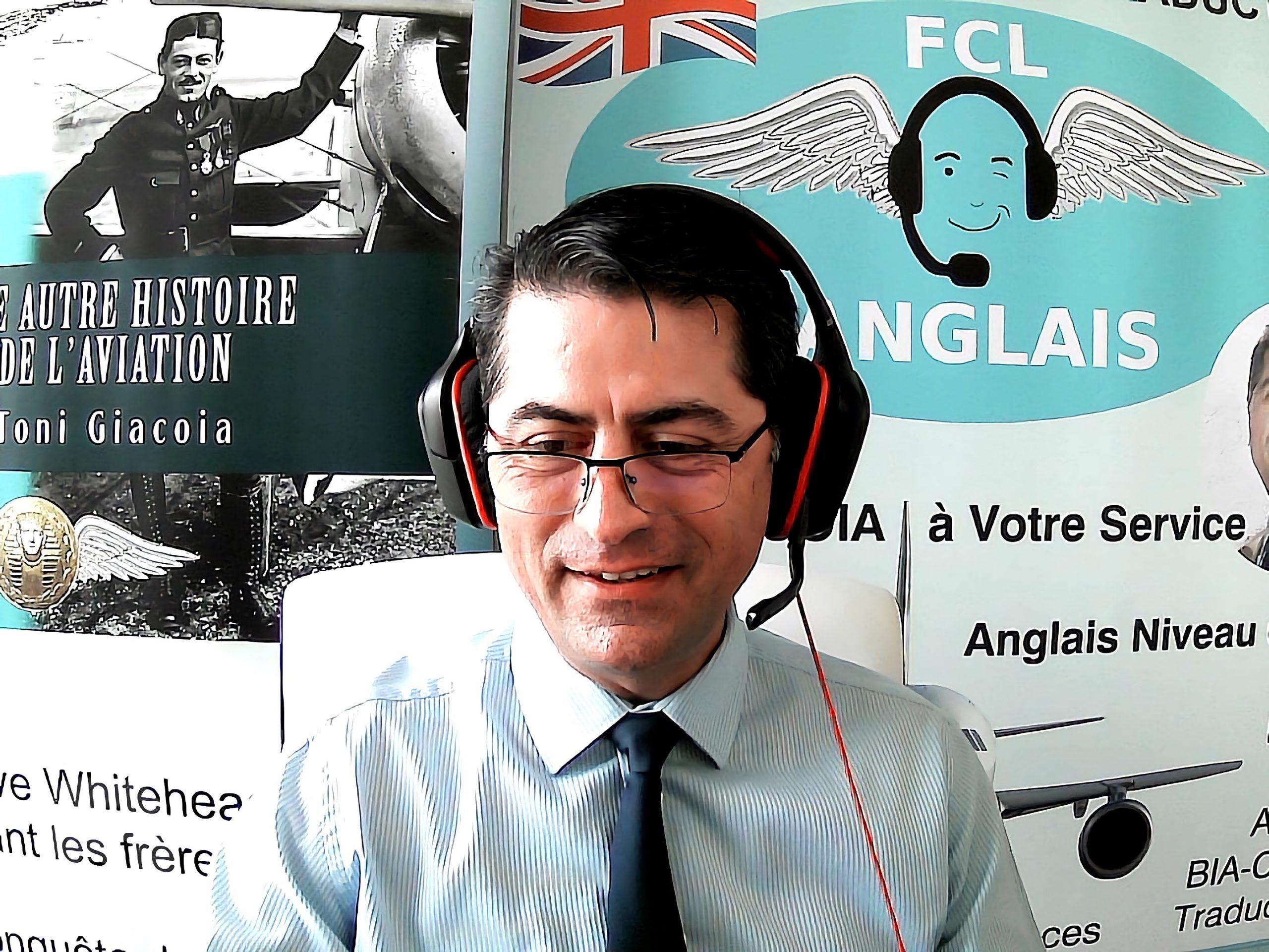 BIA Indre-et-Loire Tours cours anglais aéronautique Toni Giacoia